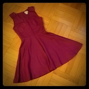 Love...ady sleeveless fit and flare dress